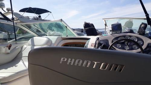 lancha phanton 290 - nova- reformada em 2018- diesel, 29 pes