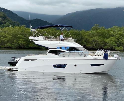 lancha porto fino 42 impecável azimut phantom intermarine