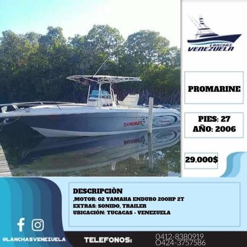 lancha promarine 27 lv275