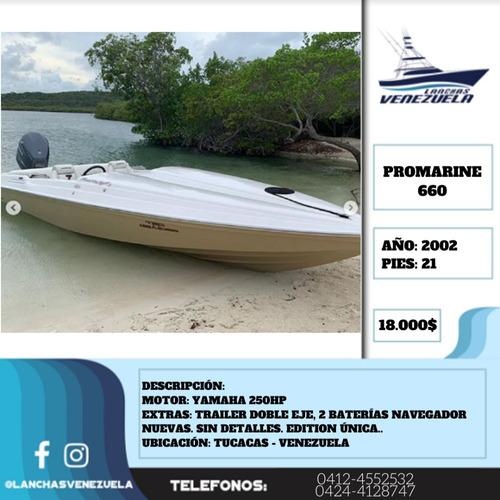 lancha promarine 660 lv340