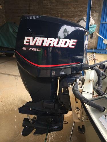lancha quest 270 | ano 2007 | motor evinrude etec 150 hp