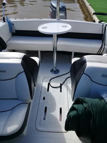 lancha quicksilver 1600 - motor yamaha 90 hp - modelo 2011