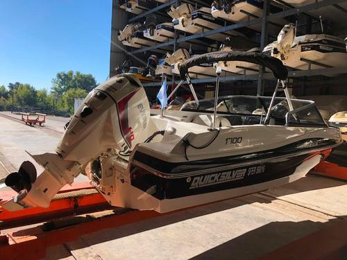 lancha quicksilver 1700 evinrude 135 hp ho v6 gallino marine