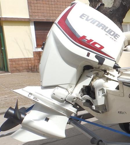 lancha quicksilver 1800 evinrude 135 hp ho nautica milione 1