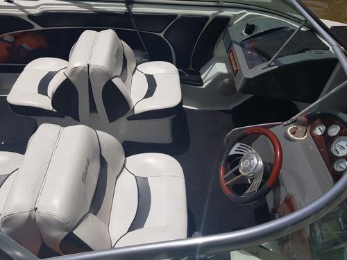 lancha quicksilver 2000 open con evinrude 200 hp e-tec 180hs