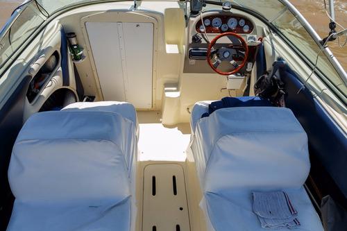 lancha quicksilver 2002 suzuki 4 tiempos 140 hp