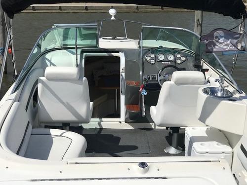 lancha quicksilver 2400 mercruiser 260 hp  nautica nahuel