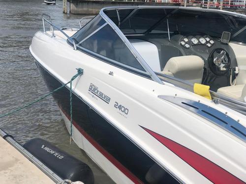 lancha quicksilver 2400 mercruiser 300 hp b3 gallino marine