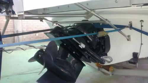 lancha quicksilver 2400+trailer - completa muchos accesorios