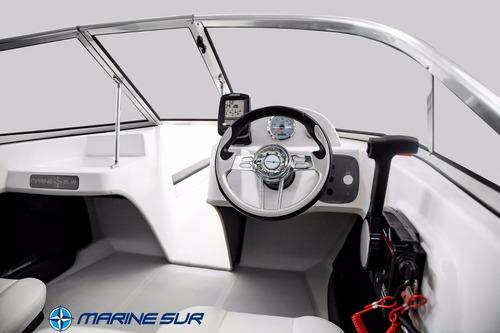 lancha quicksilver marine sur 1500 + parsun 60 hp 2018