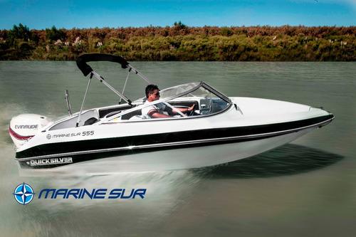 lancha quicksilver marine sur 555