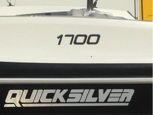 lancha quiksilver 1700 0k