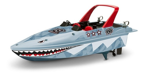 lancha radio control electrico stealth boat - nikko rc