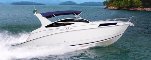 lancha real 275 com mercruiser 4.5l 250hp nova - lançamento