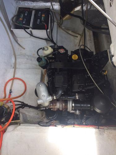 lancha real 31 class com 2x mercruiser 1.7 120hp 2006 diesel