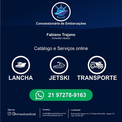 lancha real 315 2017 diesel ñ phantom,tritom,cimitarra,fs,nx