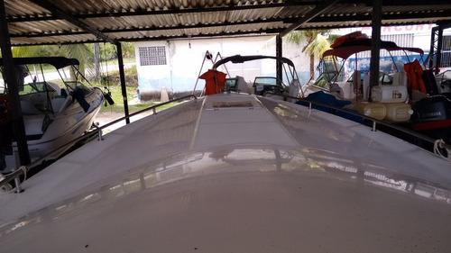 lancha real 32 pés 02 mercruiser 300hp 2015 com 03 anos gara