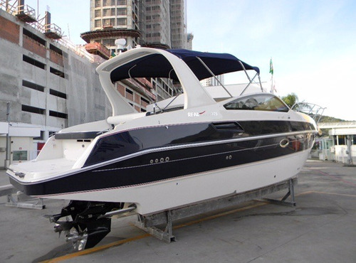 lancha real top 325 com 2x mercruiser 4.3l 220hp b3 2015