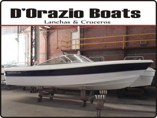 lancha regnicoli 630 open c/ suzuki 140 hp 4 tiempos full