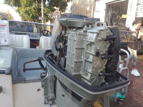 lancha regnicoli dorado v2, motor suzuki 40 hp.