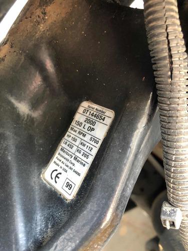 lancha regnicoli proa cerrada mercury 150 optimax