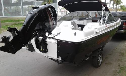 lancha robinson mantra con mercury 60 hp 4 t okm u$s billete
