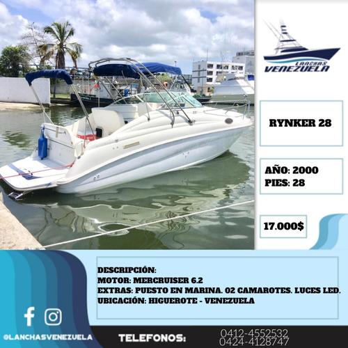 lancha rynker yatch cruiser 28 lv409