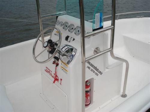 lancha sea crest fishing 150 + mercury 25hp m sea pro - 2019