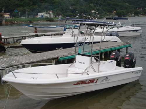 lancha sea crest fishing 150 yamaha f40 hp efi trim 4t -2019