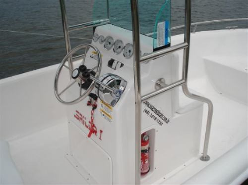 lancha sea crest fishing 150 yamaha f60 hp efi trim 4t-2019