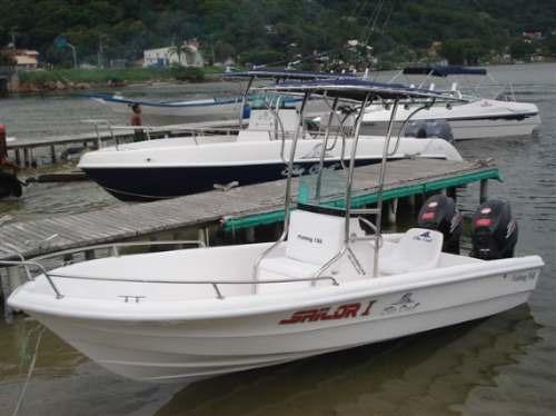 lancha sea crest fishing 150 yamaha f60 hp efi trim 4t-2019