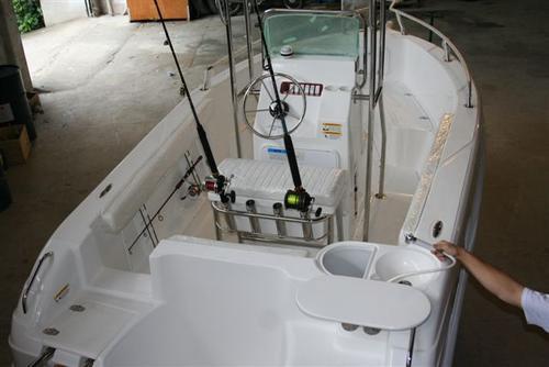 lancha sea crest fishing 185 evinrude 115hp dpl e-tech  2019