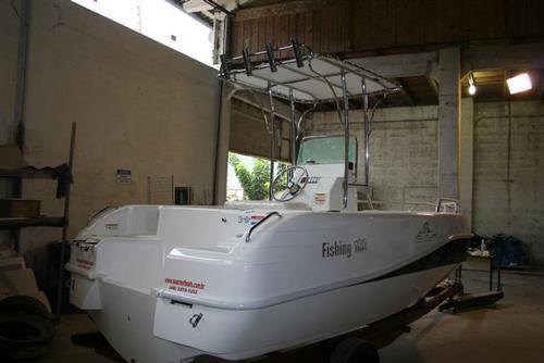 lancha sea crest fishing 185 evinrude 90 hp dpl e-tech  2019