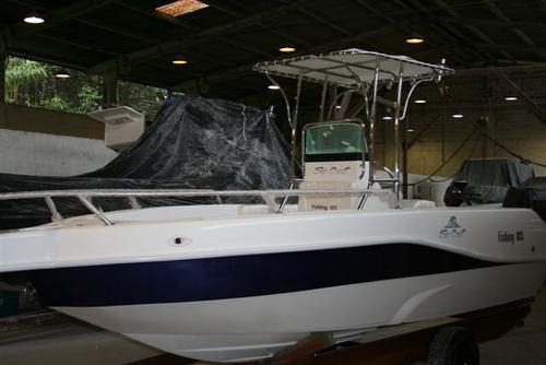 lancha sea crest fishing 185 evinrude 90 hp dpl e-tech  2020