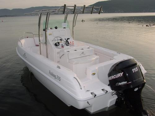 lancha sea crest fishing 215 yamaha f115 hp efi 4tempos 2019