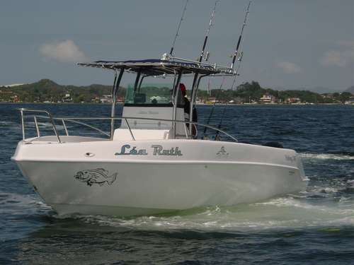 lancha sea crest fishing 245 mercury 300hp xl verado + 2019