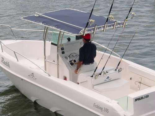 lancha sea crest fishing 245 parelha e-tech 115 hp dpl 2020