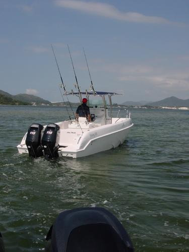 lancha sea crest fishing 245 parelha e-tech 130 hp dpl 2020