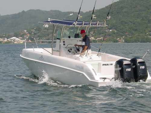 lancha sea crest fishing 245 parelha mercury150hpl3.0l4t2019