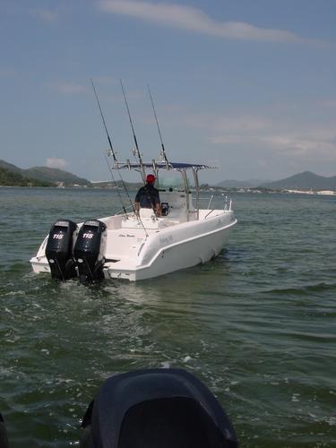 lancha sea crest fishing 245 parelha mercury150hpl3.0l4t2020