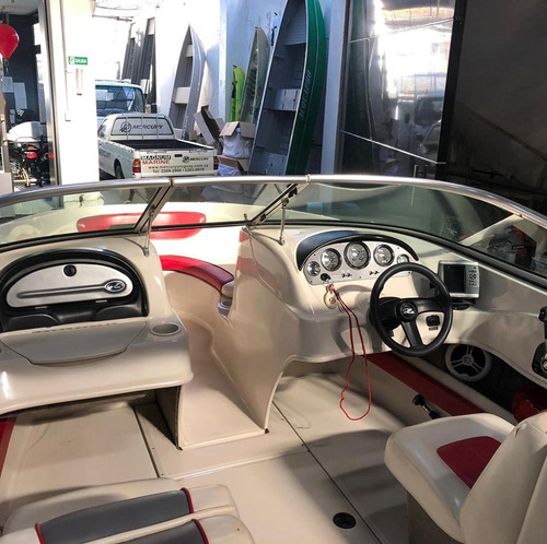 lancha sea ray 205 sport mercruiser v8 5.0 trailer toldilla