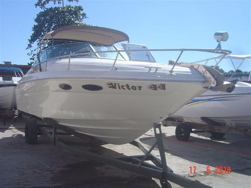 lancha sea ray 280 sundancer c/ parelha 4.3 220hp 2016