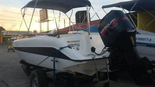 lancha seawolf 20 pés aberta mercury 100 hp