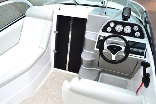 lancha solara 230 cabin motor 250 hp 0km 2016