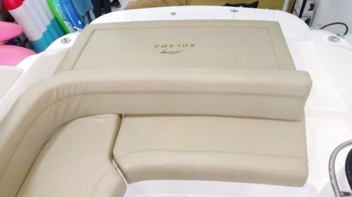lancha solara 230 cabin motor 250 hp 0km pronta entrega!