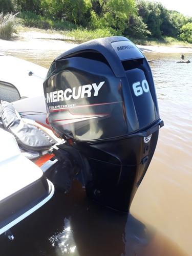 lancha stefy 490 m&e marine con mercury 60 4 tiempos