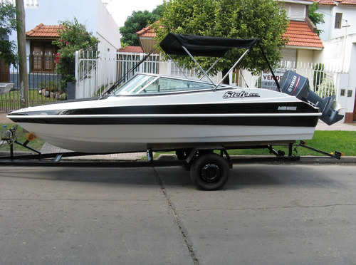 lancha stefy 4,9mts  con mercury 60 hp 4 tiempos