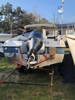 lancha sunbird190 amer motor yamaha 150inyeccion buen estado