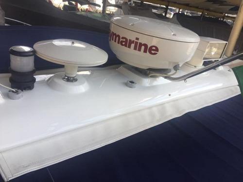 lancha sunseeker 48 - 03 volvo d4 300hp - marina atlântica