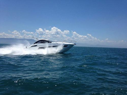 lancha sunseeker portofino 40 pés ano 2014 marina atlântica